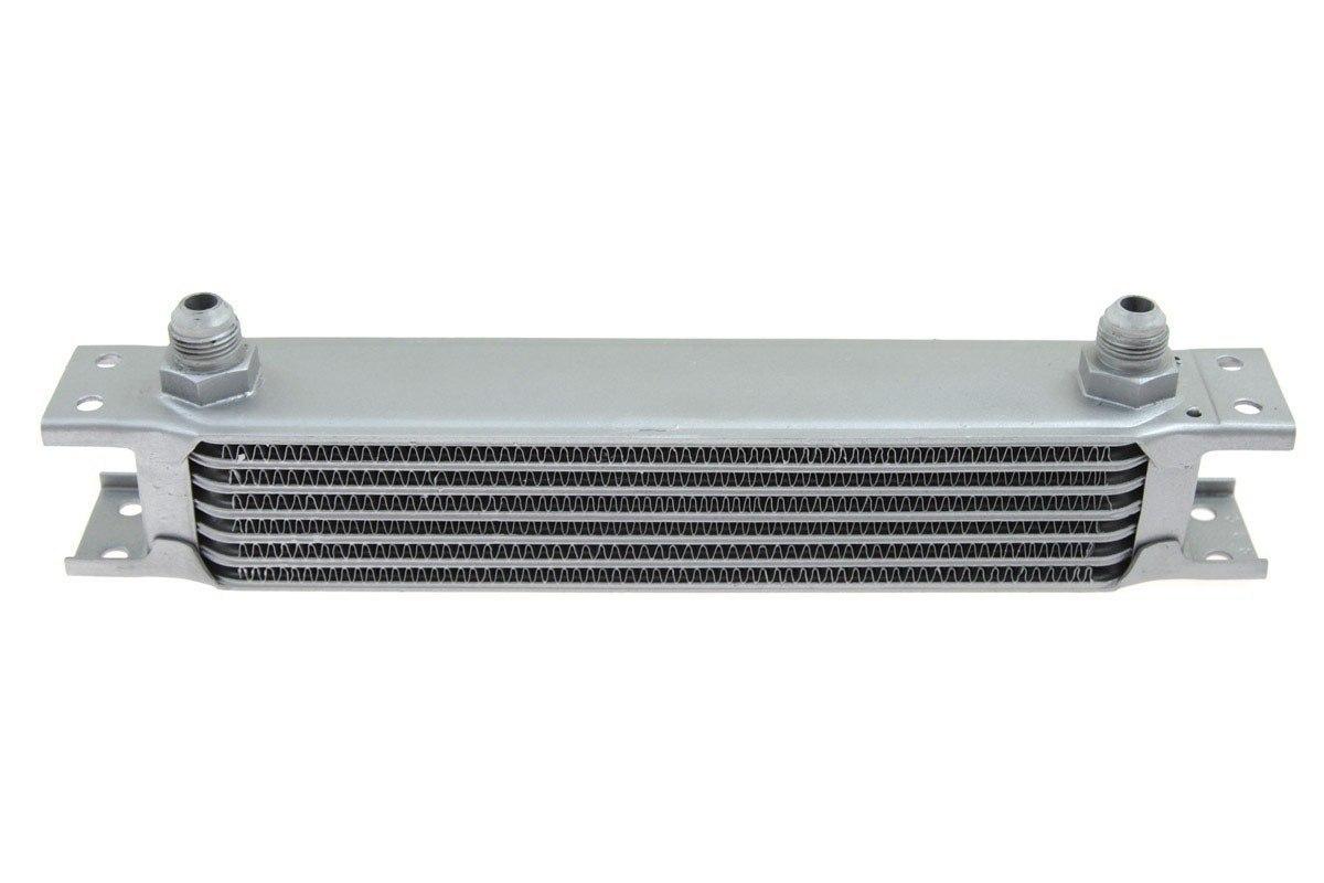 Chłodnica Oleju TurboWorks 7-rzędowa 260x50x50 AN8 Silver - GRUBYGARAGE - Sklep Tuningowy